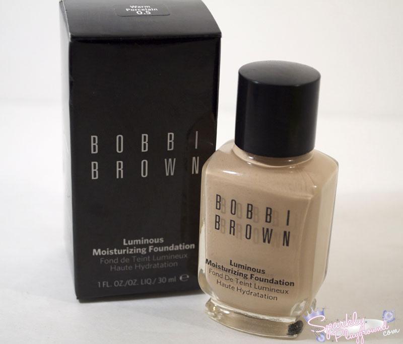 bobbi brown luminous foundation