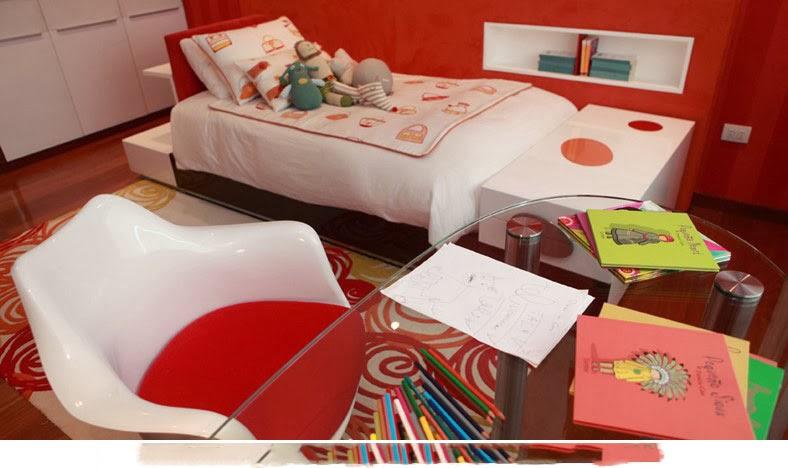Decoração dormitorio-color-rojo