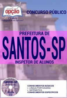 Apostila Concurso Prefeitura de Santos - SP - Inspetor de Alunos - 2016