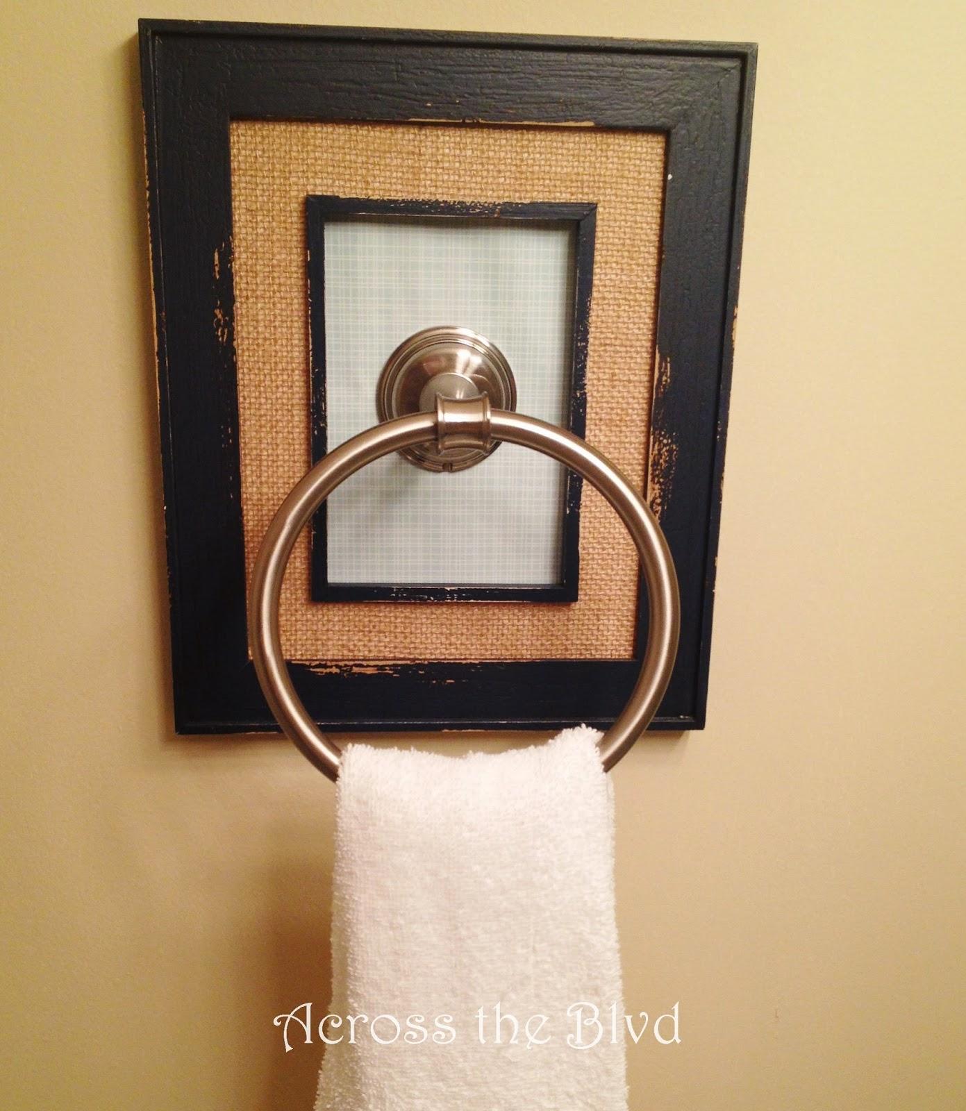 Framed Towel Ring