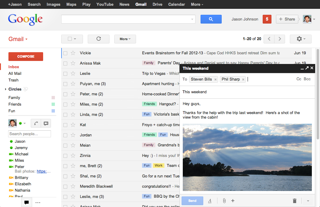 Introducing the new compose in Gmail