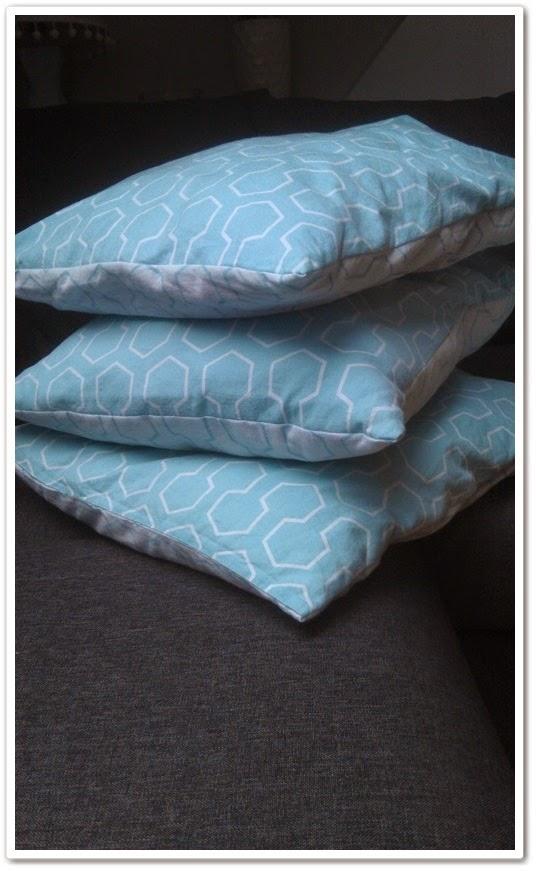 poduszki, poszewki