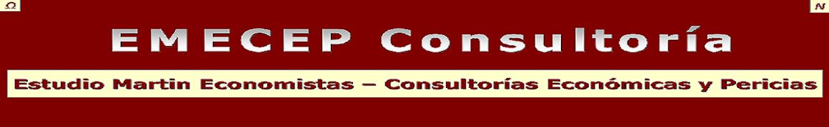 Blog EMECEP Consultoría - Estudio Martin Economistas - Consultorías Económicas y Pericias