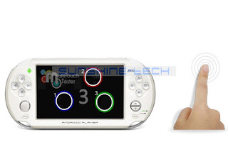"5"" Tablet PC Handheld Game Console Android 4.0 OTG WHITE JXD S5110 Amlogic M3"