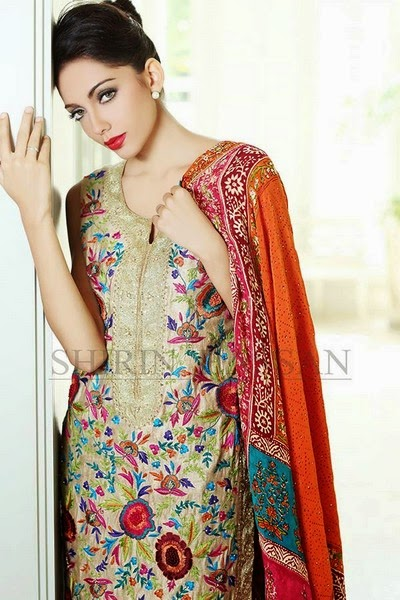 Shirin Hassan Luxury Collection 2014