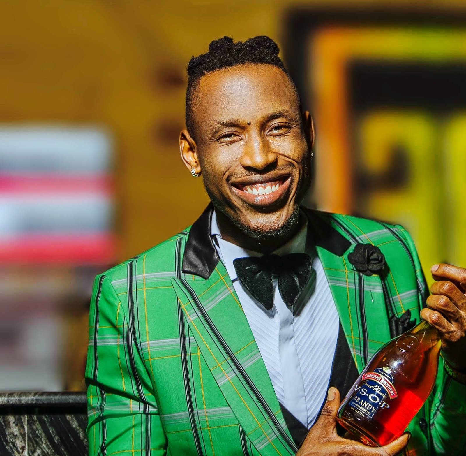 Mr 2kay becomes brand ambassador for christian brothers brandy in nigeria