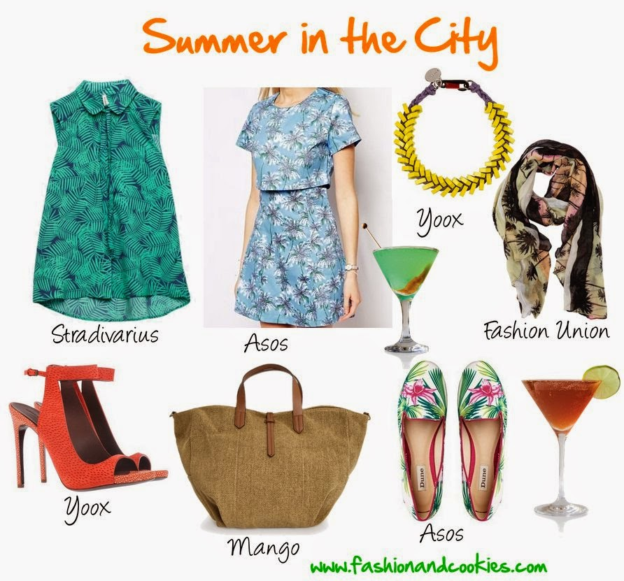summer 2014 in the city shopping selection, fashion and cookies, fashion blogger