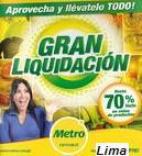 metro liquidacion julio 2012