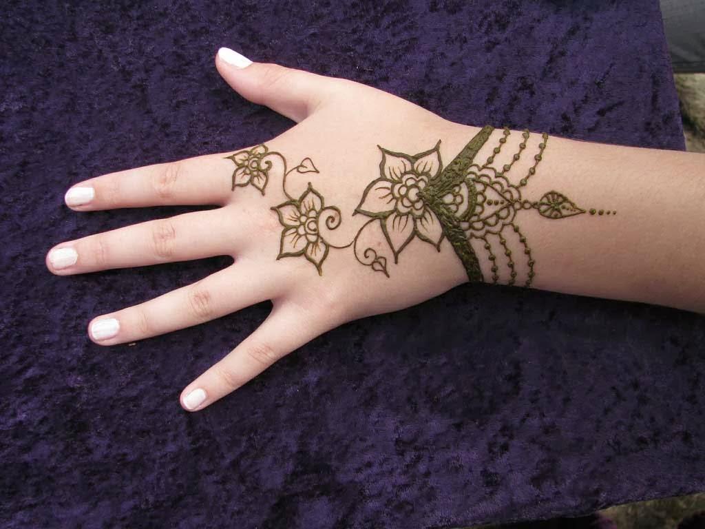 Mehndi Designs Back Hand Full : Beautiful latest simple arabic pakistani indian bridal