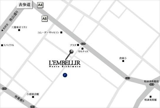 l'embellir tokyo map