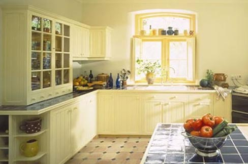 Kitchen paint color kitchen paint color ideas country for Country kitchen paint colors