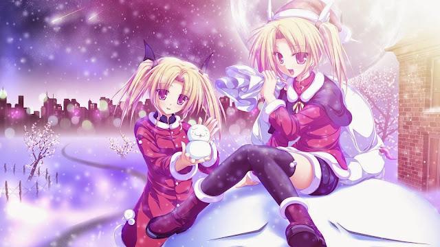 Hình nền anime mùa đông đẹp nhất