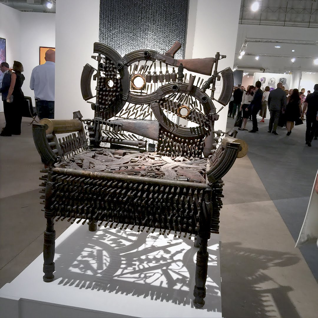"Gongcalo Mabunda ""Throne"""