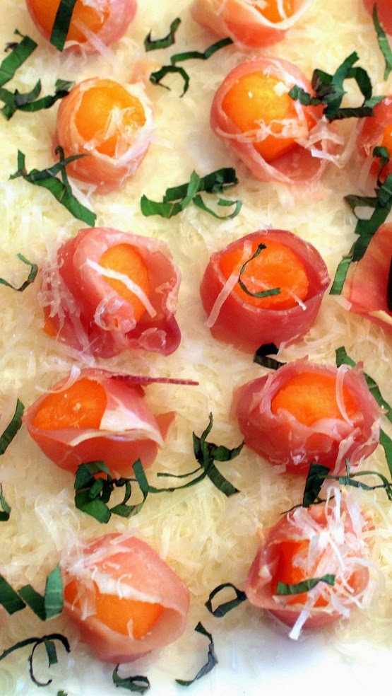 52 Ways to Cook: Melon Wrapped In Prosciutto - 52 Church PotLuck ...