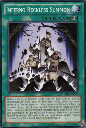 http://yugioh.wikia.com/wiki/Inferno_Reckless_Summon