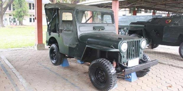 Inilah Jeep Willys Eks Jenderal Sudirman