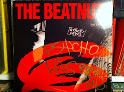 Beatnuts Street Level Signed By Psycho Les
