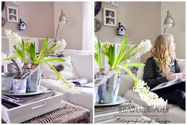 Frühling Wohnzimmer Einrichtung