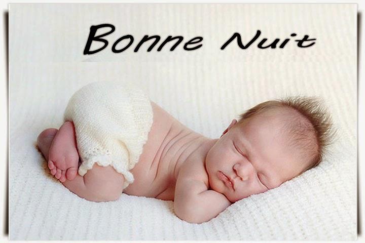 Photo carte bébé bonne nuit