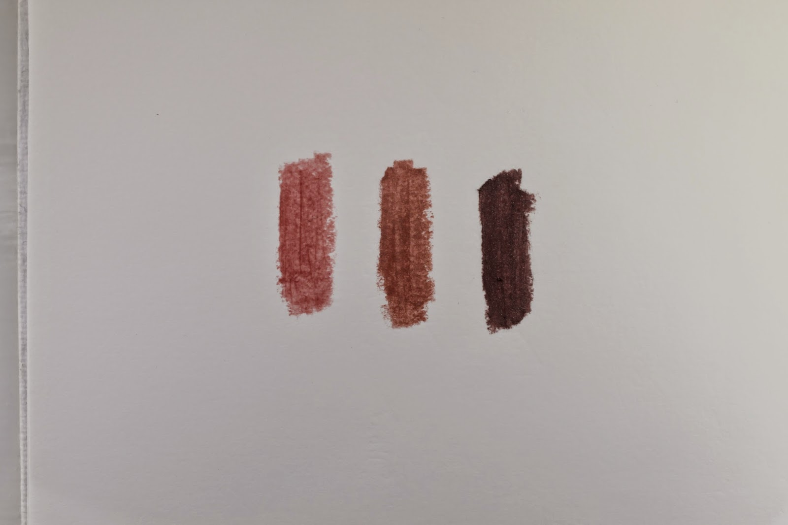 Bourjous Colorband Eyeshadow in 04 Rose Fauviste and 05 Mauve Baroque and Colorboost Lip Crayon in 07 Proudly Naked