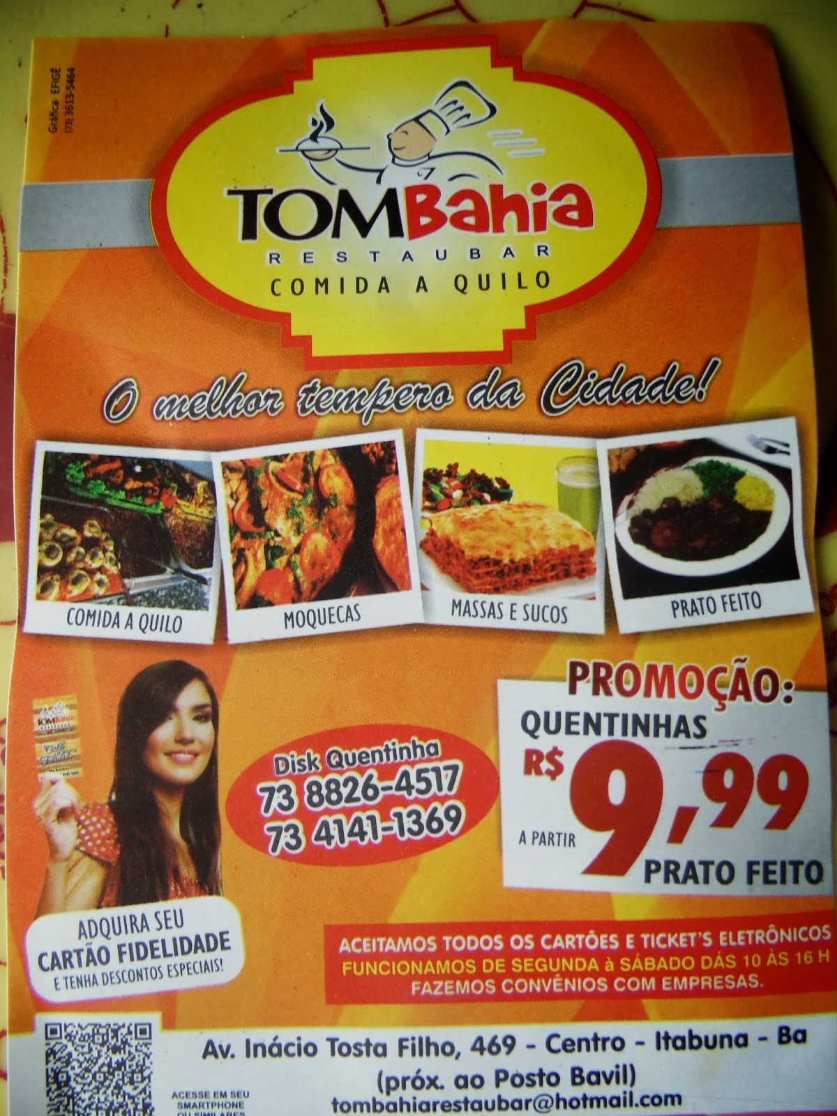 TOMBAHIA RESTAUBAR