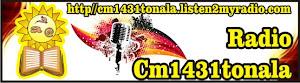 Radio CM1431TONALÁ