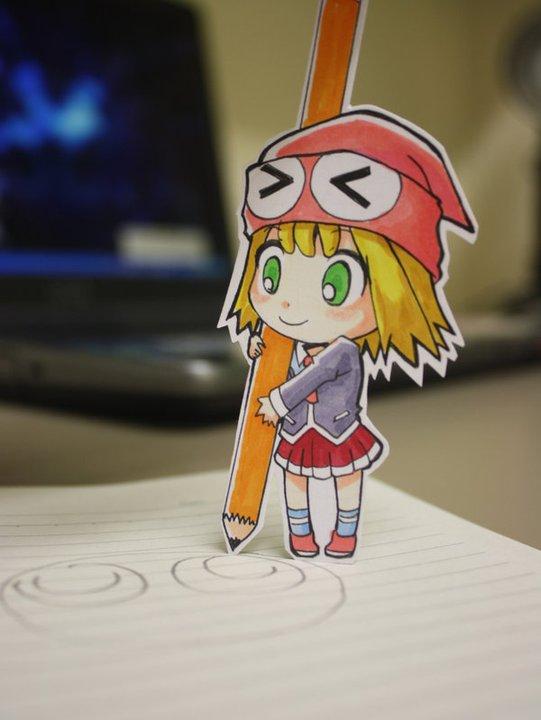 Figuras Anime en papel. 216692_10150263581304819_213182229818_7284193_5246984_n