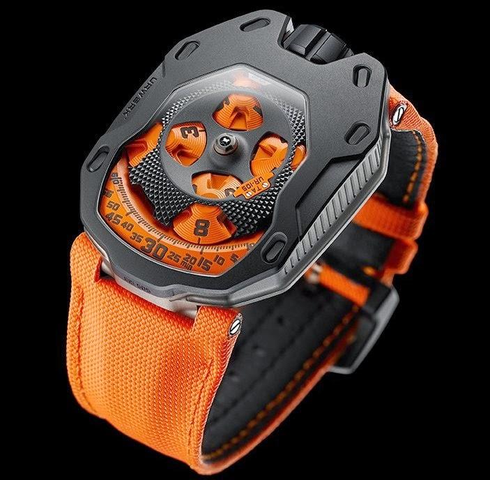 Neue Uhr : URWERK UR-105 TA - UhrForum