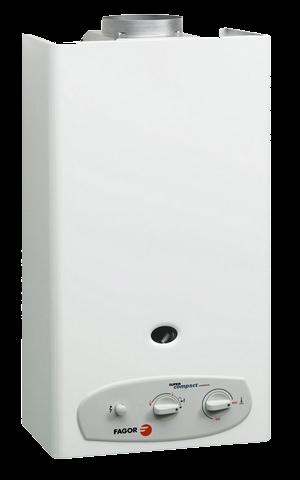 Calentadores electricos y de gas caracteristicas y - Caldera de gas butano ...