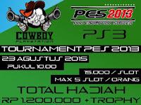 PES 2013 Tournament di Jogja Agustus 2015
