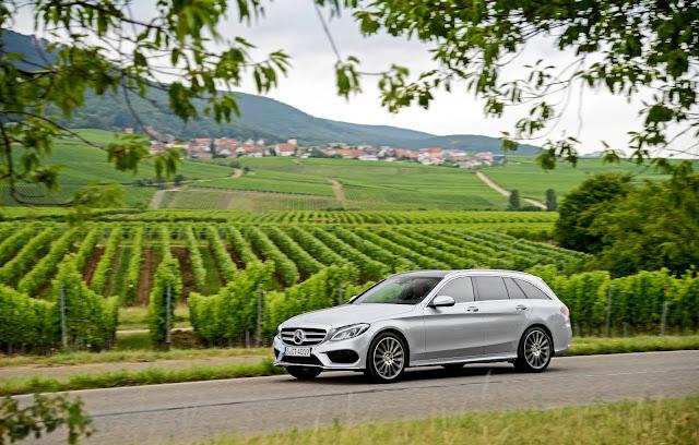 2016 Mercedes-Benz C300d 4Matic wagon silver