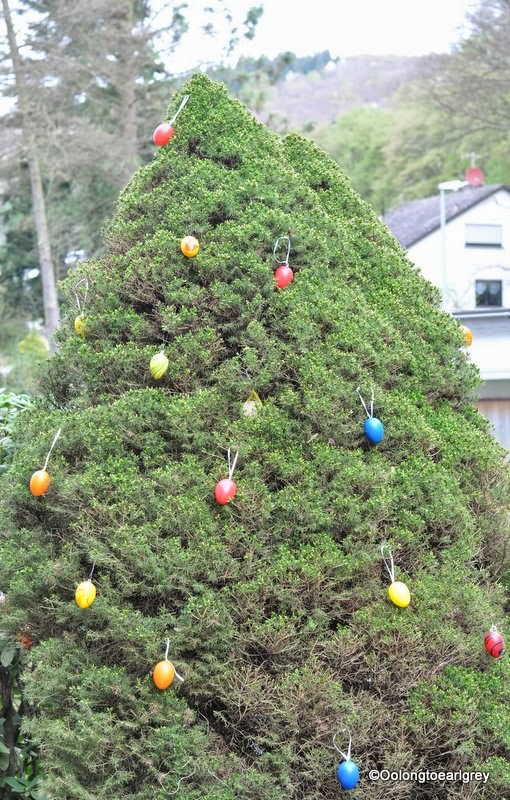 Easter Egg Tree Germany 2014
