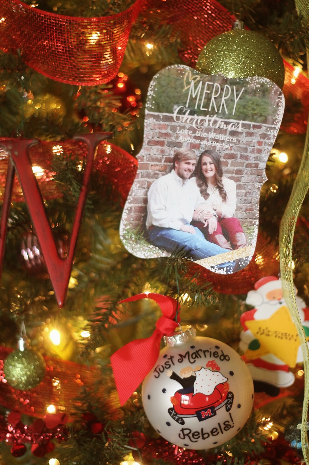 Merry Christmas from the Walkers // Our Christmas Cards | Rachel ...