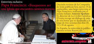 """Francisco pide buscar """"una iglesia que encuentre caminos nuevos"""""""