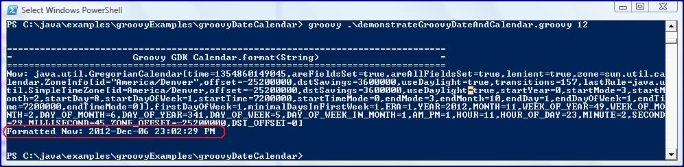 Calendar Date Format Calendar.format(string