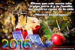 Mensajes de Año Nuevo 2016 Para Compartir en la Web