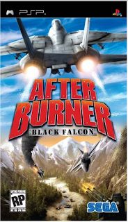 After Burner Black Falcon PSP