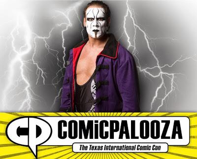 Comicpalooza 2015 WWE Professional Wrestling Guests - Sting