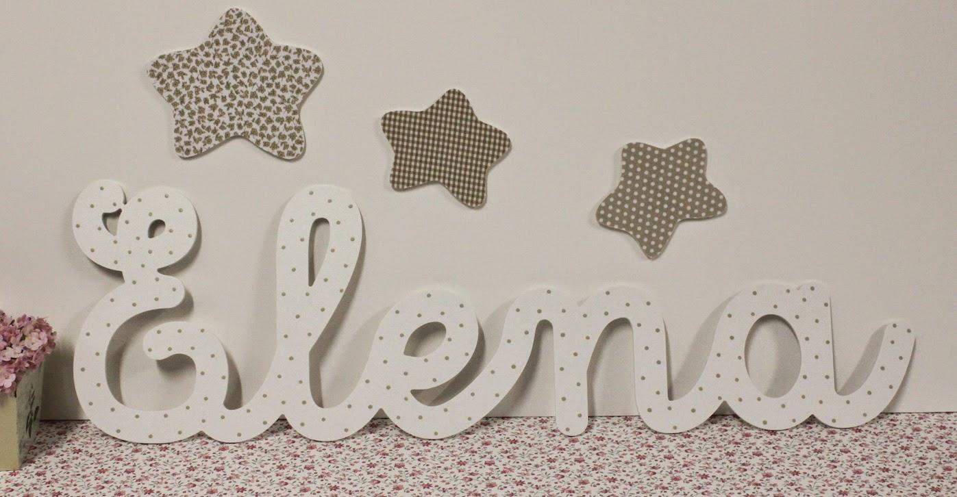 2 dec 2014 letras infantiles para decorar pintadas a - Letras para decorar habitacion infantil ...