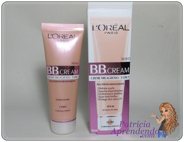 Resenha BB Cream L'oréal Paris