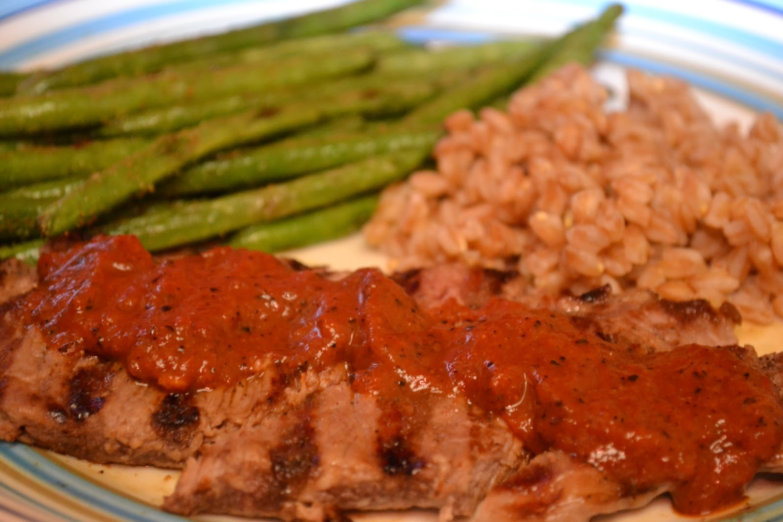 Gourmet, My Way: Spicy Charred Pepper Steak Sauce