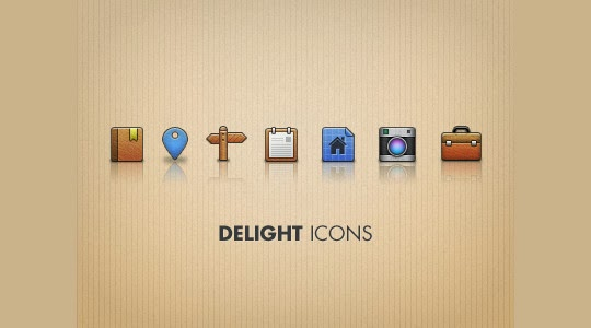 Delight Icons PSD