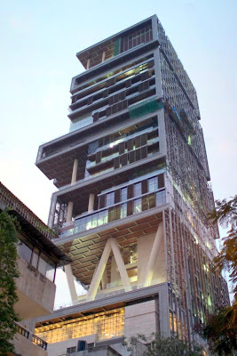 Mumbai, India, Mukesh Ambani, Antilia