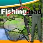 Fishing Mad-Newmills Trout Fishery Lanark Deer Creek Resin Stockist