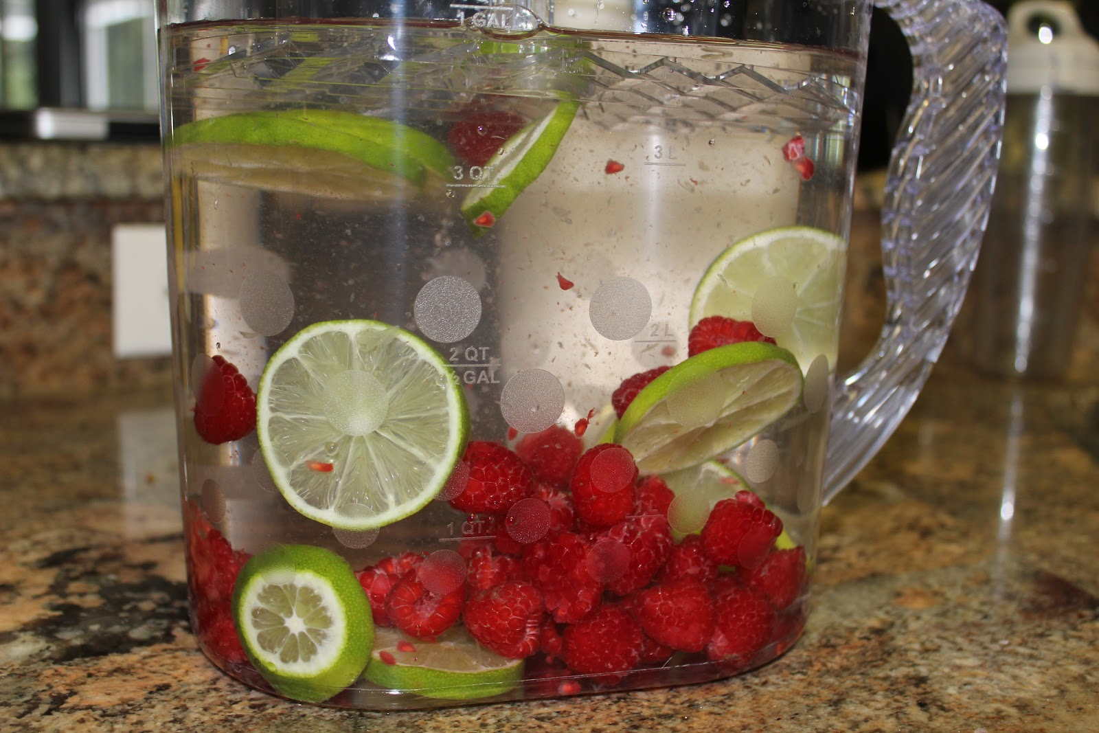 simply made with raspberry lime water simply made with raspberry lime water
