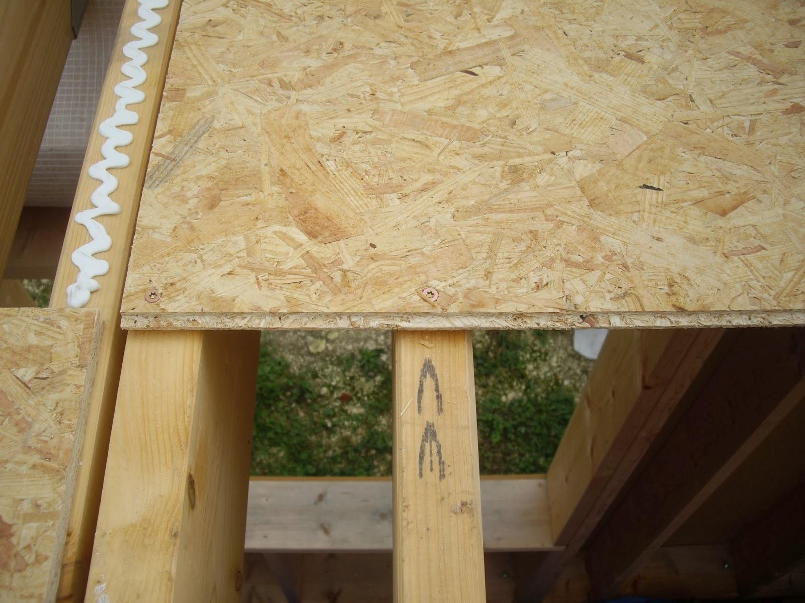 Notre auto construction passive maison ossature bois m - Principe maison ossature bois ...
