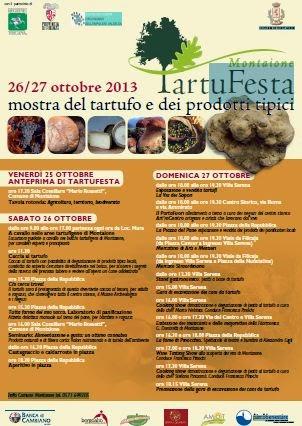 Tuscany holidays montaione tartufesta 2013 un for Arredo casa montaione