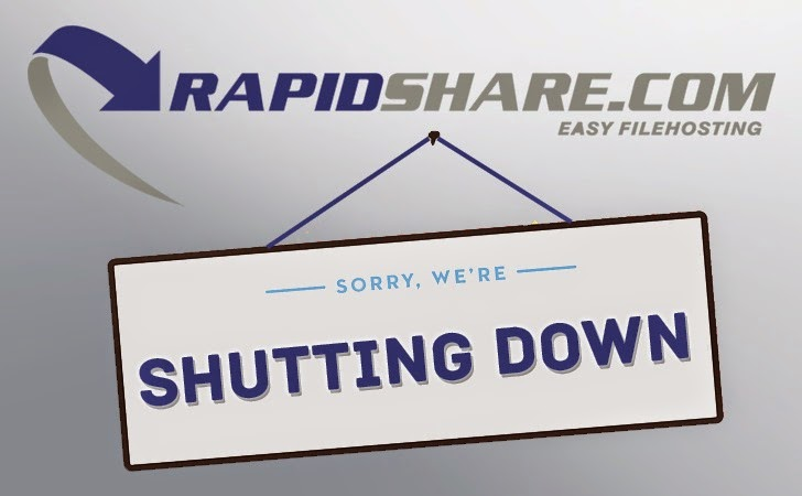 File Sharing Service RapidShare Shutting Down
