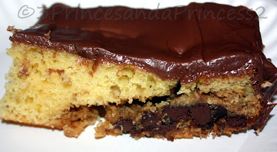 Cake with Cookie recipe
