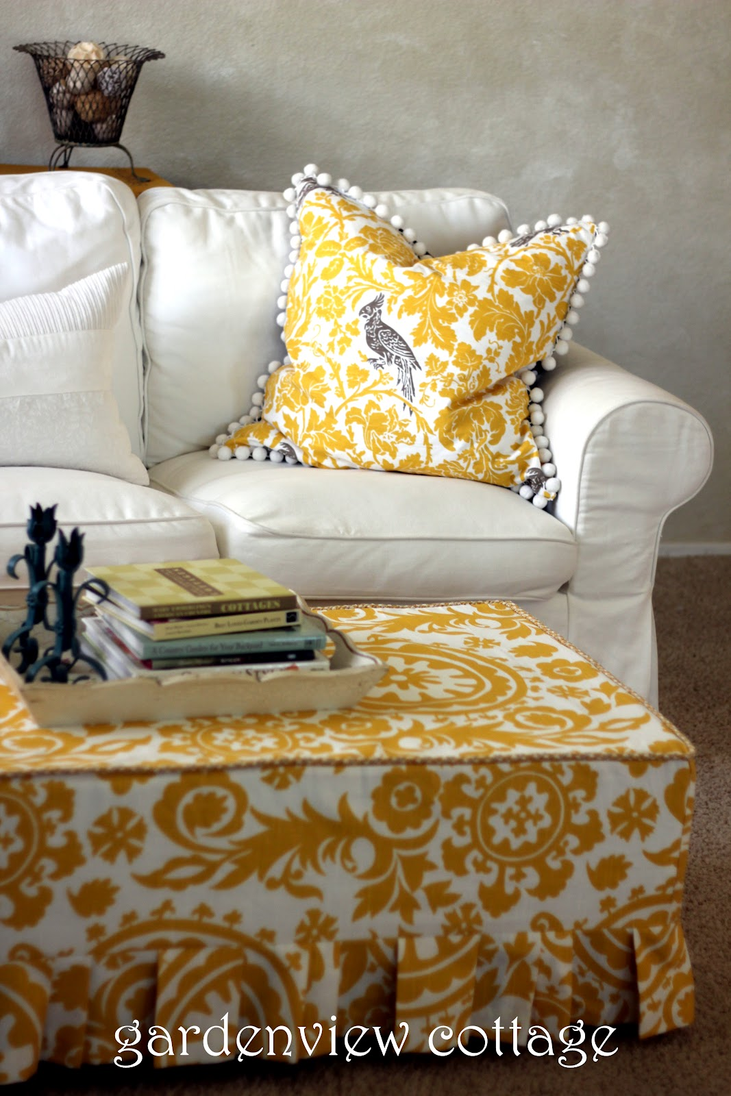 Gardenview Cottage How To Make An Ottoman